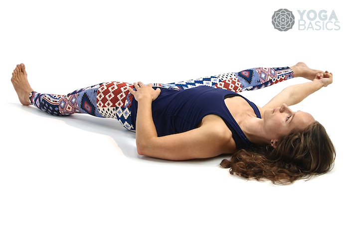 extended supine hand to toe