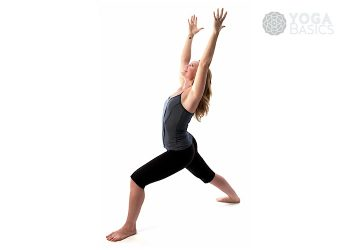 Warrior I (one) / virabhadrasana I