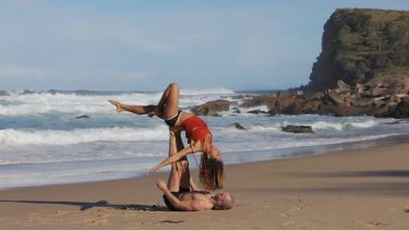 Follow Your Bliss with YogaBeyond Acro Video