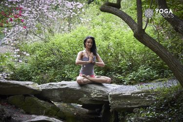 yoga woman finding dharma