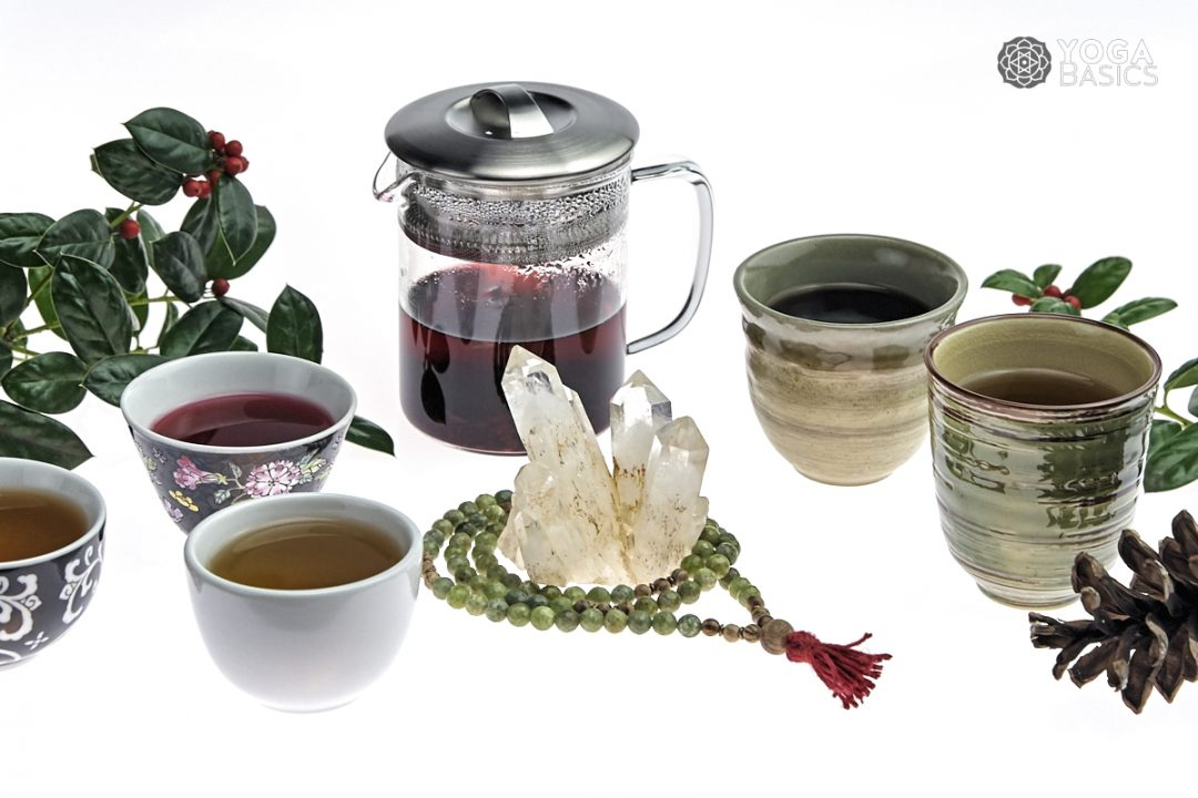 warming and healing winter teas for yogis