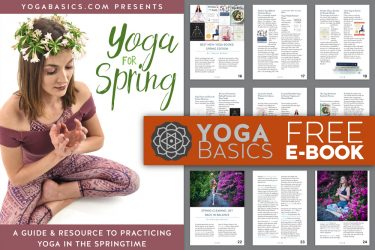 Free yoga ebook: yoga for spring