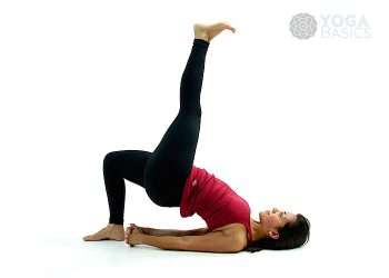eagle pose • yoga basics